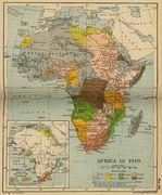 África en 1910