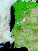 Mapa de Relieve Sombreado de Europa 2002