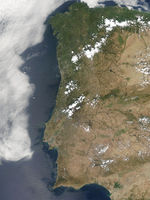 Incendios a través de Portugal