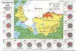 Mapa de los Rusos en los Nuevos Países Independientes