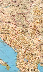 Mapa Politico Pequeña Escala de República Checa