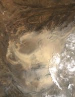 Dust Storm in Afghanistan