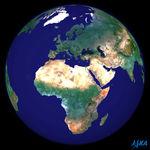Relieve de África 2003