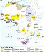 África en 1880