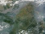 Un día de contaminación atmosférica en la Ciudad de México