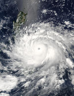 Typhoon Nida (04W) over the Philippines