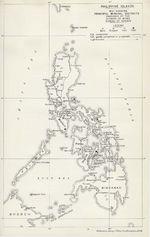 Philippine Islands Map 1909