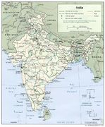 Mapa Politico de India