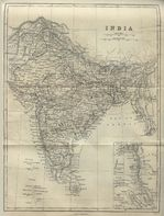 India Map 1882