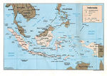 Mapa Politico de Indonesia