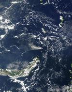 Imagen, Foto Satelite Esclusa de Miraflores, Canal de Panamá