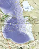 Southern Caspian Sea Region Map