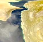 Gulf of Oman Dust Storm