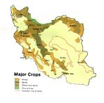 Iran Major Crops Map