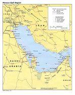 Mapa Politico de la Région del Golfo Pérsico