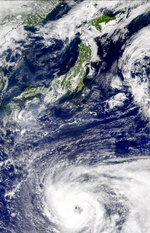 Tropical Cyclone 21S off Java