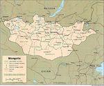 Mongolia Political Map