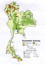 Thailand Economic Activity Map
