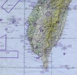 Southern Taiwan Operational Navigation Chart
