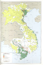 Indochina Agriculture Map
