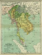 Indo - China Map 1886