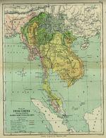 Mapa de Indo - China 1886