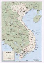 Mapa Politico de Vietnam