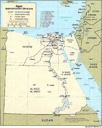 Egypt Administrative Divisions Map