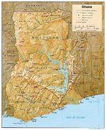 Mapa de Relieve Sombreado de Alabama, Estados Unidos