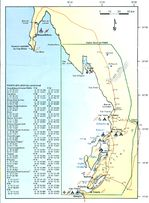 Osceola Topographic City Map, Missouri, United States