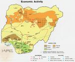 Nigeria Economic Activity Map