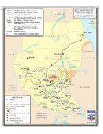 Mapa de los Titulares de Concesiones de Petróleo y Gas en Sudán