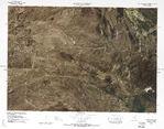 Iraq Physical Map 1976