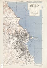 Melilla City Map 1943