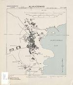 Alhucemas City Map, Spain 1943