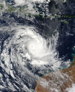 Tropical Cyclone Inigo (26S) off Northern Australia
