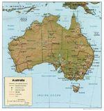 Satellite image, photo of Africa