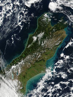 Satellite Image, Photo of Deforestation and Fires, Mato Grasso State, Brazil