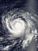 Typhoon Songda (22W) over the Northern Mariana Islands