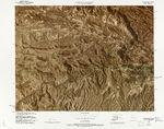 Mapa físico del Ecuador 1985