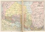 Mapa del Norte de Ontario, Canadá 1921