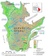 Mapa Relieve Sombreado de Cuba