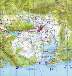 Costa Ballena map 2005