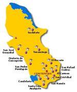 Mapa Topográfico de la Ciudad de Barstow, California, Estados Unidos
