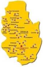 Mapa Geopolítico y Administrativo de la Ciudad de São Paulo, Brasil