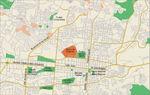 Mapa del Centro de San Salvador, El Salvador