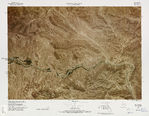 United States-Mexico Border Map, Big Canyon