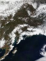 Imagen, Foto Satelite de la Ciudad de Posadas, Prov. Misiones, Argentina