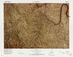Mapa del Parque Nacional Mammoth Cave, Kentucky, Estados Unidos