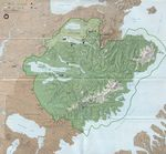 Mapa Político Pequeña Escala de Tonga